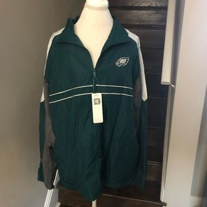 Other - NWT NFL Eagles zip up windbreaker